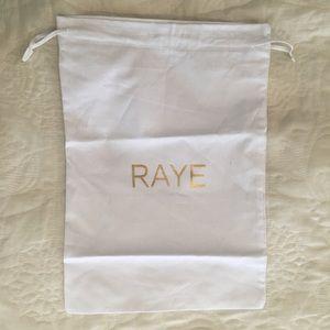 Raye Dust Bag